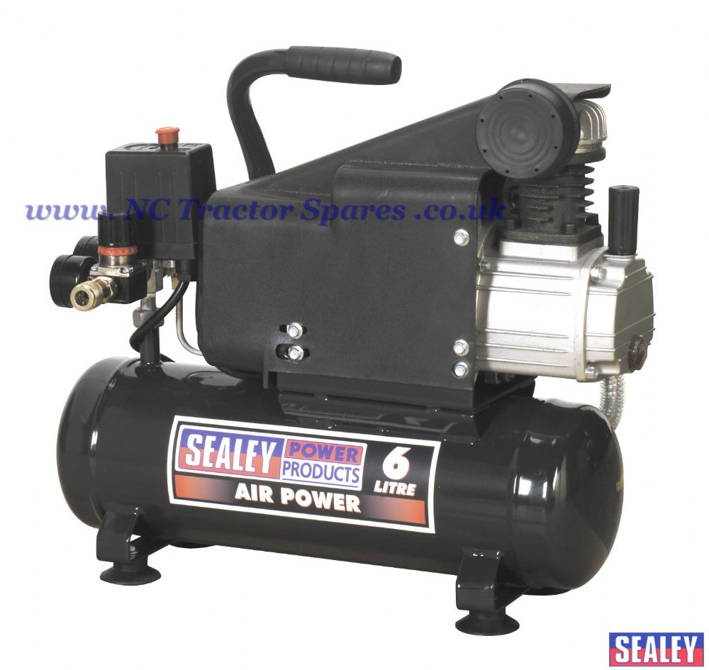 Compressor 6ltr Direct Drive 1hp